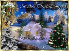 Karácsony Christmas GIF - Tenor GIF Keyboard - Bring Personality To Your Conversations Beautiful Christmas Decorations, Elegant Christmas, Christmas Images, Christmas And New Year, White Christmas, Merry Christmas, Xmas, Holiday Decor, New Year Greetings