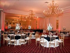 Wedding receptions at The Regal Ballroom Philadelphia, PA