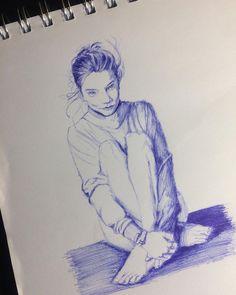 "María José Huerta Osses on Instagram: ""Dibujando......................................................…"" Maria Jose, Instagram, Art, Vegetable Garden, Drawings, Art Background, Kunst, Performing Arts, Art Education Resources"
