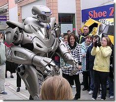 titan the robot drawing