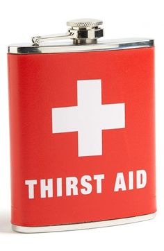 Wink 'Thirst Aid' Flask