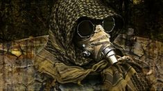 Post Apocalyptic Mask 'The Ragman' inspired by Mad Max / Fury Road / Fallout for Wasteland Weeken / Burning Man