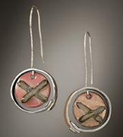 Katy Lareau, Glass/Metal - I have a pair of her earrings and I love them!