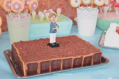 Tarta de chocolate con virutas de chocolate | Comer con poco