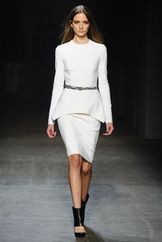 Yigal Azrouël RTW Fall 2013