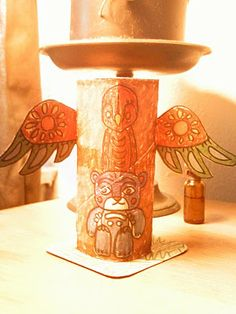 cider and faun: where ada shares: making totems