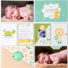 It's+A+Boy+Pocket+Page+**Carta+Bella** - Scrapbook.com