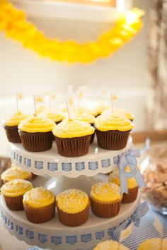 yellow submarine first birthday party