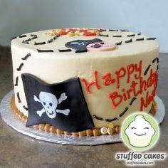 Stuffed Cakes: Pirate Treasure Cake