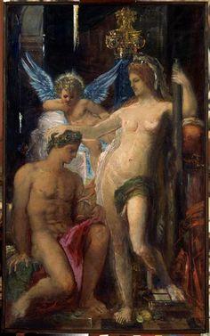 Gustave Moreau 1856. Gustave Moreau museum Paris