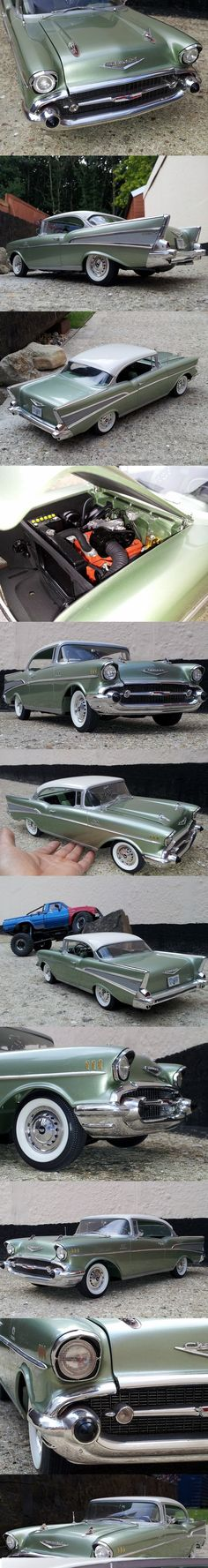 1957 Chevy...Re-pin...Brought to you by #HouseofInsurance for #CarInsurance #EugeneOregon