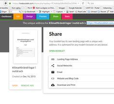 #livebooklet #kulverktyg för att skapa lättillgänglig text https://livebooklet.com .  Min text kring #klimatförändringar https://livebooklet.com/klimatforandringar #miljöutmaningen