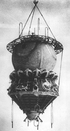 Eureka: Vostok: la primera nave espacial (parte I)
