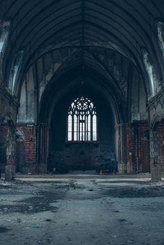 Abandoned Church, Detroit