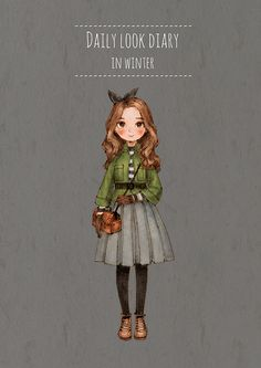 Image in Fashion_V collection by on We Heart It Fashion Illustration Sketches, Illustration Girl, Illustrations, Fashion Sketches, Girls Diary, Daily Look, Anime Art Girl, Paper Dolls, Cute Art
