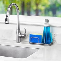 OXO Good Grips Stainless Steel Sink Organizer: Amazon.ca: Home & Kitchen