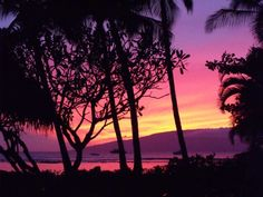 Purple Maui Sunset, 'Au'au Channel | Hawaii Pictures of the Day