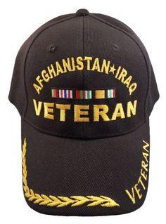 d2bea975ec4 Afghanistan Iraq Veteran Cap God Bless America