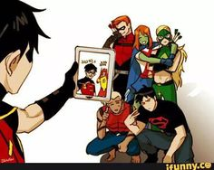 Funny comics for teens cartoons young justice 63 ideas Young Justice League, Superboy Young Justice, Young Justice Funny, Young Justice Robin, Young Justice Characters, Geeks, Univers Dc, Wally West, Kid Flash