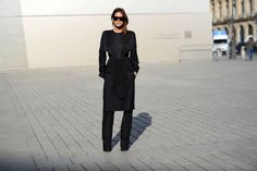 Christine Centenera | Celine top from David Jones, Givenchy skirt, Rick Owen pants, Alaia shoes, Hermes watch.