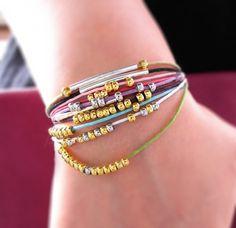 DIY Simple Summer Bracelet - Tutorial