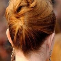 mother of the bride updo for mid length hair
