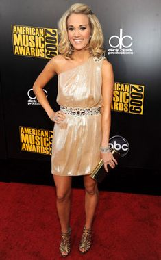 Gone Gold from Carrie Underwood's Best Looks | E! Online