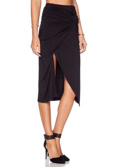 Black Knot Overlay Skirts- With Elastic Waist Band