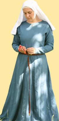 Cotte indigoblaue Wolle
