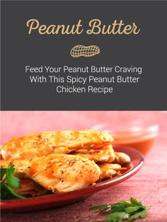 Peanut butter for dinner? Try this Spicy Peanut Butter Chicken dish to get your peanut butter craving fix. Click the pin to find out how to mix peanut butter and chicken to make this delic(How To Make Butter Chicken) Chicken Meals, Chicken Recipes, Tasty Dishes, Food Dishes, Peanut Butter Chicken, Yummy Recipes, Cooking Recipes, Dessert Food, Easy Dinners
