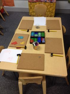 Tap it numicon - tap pins into the holes or place paper over the numicon and rub over wax crayon to make an I print