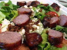 #Sausage #Salad #Tas