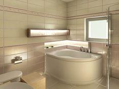 Bathroom interior design made of Zorka Keramika Tiles - Orion Collection