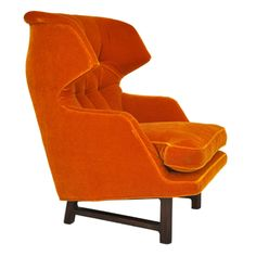 Dunbar Wingback Lounge Chair - Edward Wormley from Modern Drama in Chicago. I would love to see in an all neutral room of grays and muted taupes.