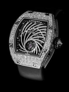 Horlogerie: Montre Richard Mille en diamants
