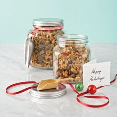 Brown sugar complements tangy cranberries and apricots in this super-addictive cereal mix.