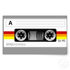 Shop Cassette tape label poster created by styleuniversal. Cassette Tape, Wall Art Decor, Colorful Backgrounds, Ads, Label, Stickers, Retro, Digital, Posters