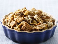 Apple Pie Chex Mix. Sounds like a yummy snack