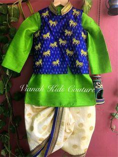 Neaten dressss Baby Boy Suit, Baby Boy Dress, Baby Boy Outfits, Kids Outfits, Baby Dresses, Kids Indian Wear, Kids Ethnic Wear, Kids Dress Collection, Kids Kurta