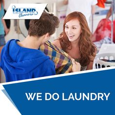 We do laundry for males, females and the home #island #cleaners #caymanislands #males #females #home