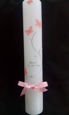 christening candle www.facebook.com/bakinocunce