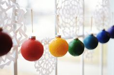 12 Days of Christmas using ornaments