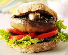 Portobello burger, vegan ideas!