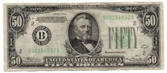 1934-A $50 FEDERAL RESERVE NOTE-FR 2103-B-FINE-FREE USA SHIPPING-NEW YORK