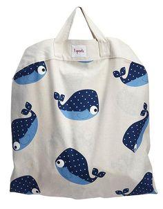 whale play mat bag