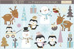Frosty by Poppymoondesign on @creativemarket