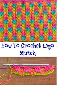 How To Crochet Lego Stitch Figuring out how to create this amazing stitch is difficult, that is why we have selected very helpful and interesting video tutorial for you. This stitch is called Lego …Learning The Craft Of Crochet Stitches – Love Cr Lego Crochet, Diy Crafts Crochet, Crochet Yarn, Tunisian Crochet, Crochet Projects, Free Crochet, Crochet Ideas, Crochet Baby Blanket Free Pattern, Crochet Stitches Patterns