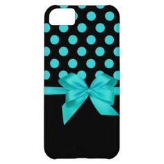 Elegant Polka dots iPhone 5 case