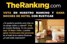 Gana 2 noches de hotel en un paraje rústico y natural para desconectar y disfrutar de la naturaleza.  Promoción válida para España hasta el 31/08/2013.  Más información aquí: http://www.baratuni.es/2013/08/sorteos-gratis-gana-2-noches-de-hotel-rural-con-rusticae.html  #sorteos #sorteosgratis #sorteosonline #viajes #turismo #hoteles #hotelesrurales #baratuni