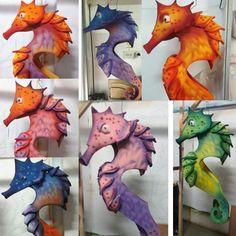 The Little Mermaid Musical, Little Mermaid Play, Little Mermaid Costumes, Creative Costumes, Diy Costumes, Sea Creature Costume, Seahorse Costume, Under The Sea Costumes, Under The Sea Theme